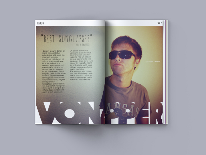 vonzipper magazine