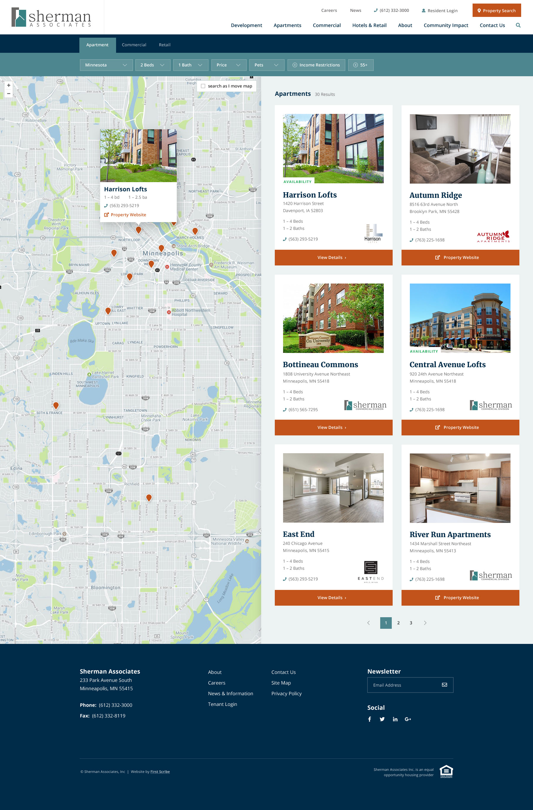 sherman-apartments-search